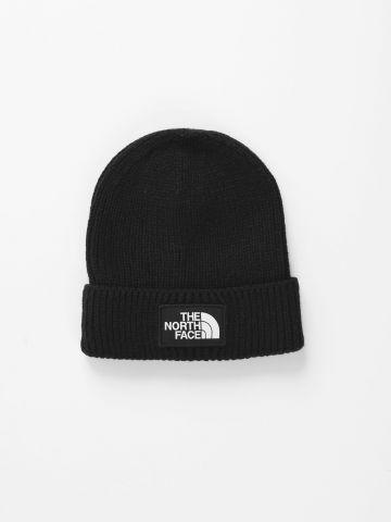 כובע גרב סרוג עם לוגו של THE NORTH FACE