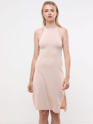 שמלת סריג מטאלי מידי של YANGA