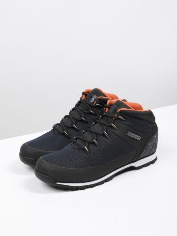 נעלי הרים עם פאץ' לוגו Euro Sprint Waterproof / גברים של TIMBERLAND
