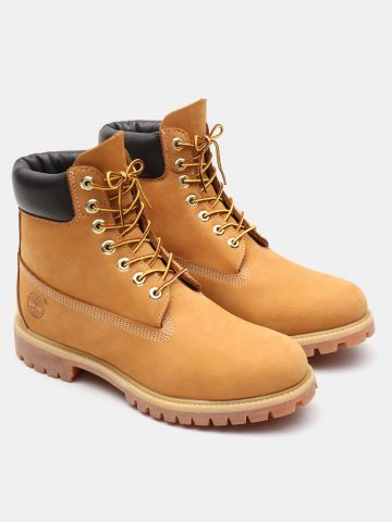 מגפי זמש Premium 6 In Waterproof Boot / גברים של TIMBERLAND