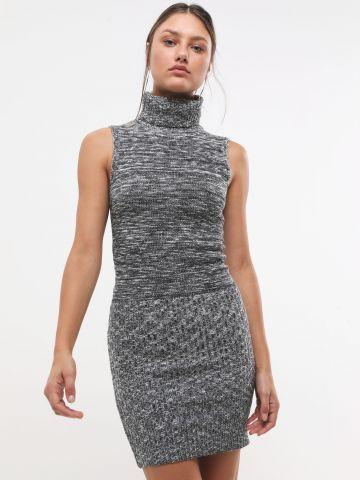 שמלת סריג מיני גולף של TERMINAL X