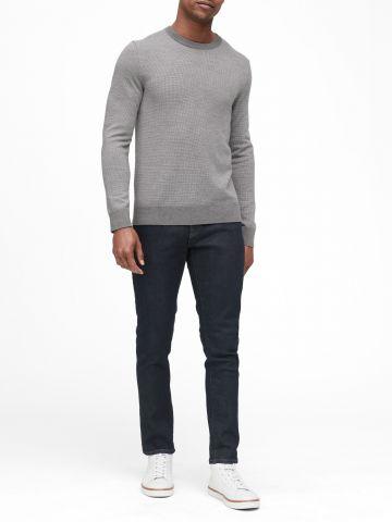 סוודר צמר בייסיק של BANANA REPUBLIC