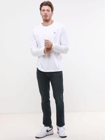 ג'ינס סלים בשטיפה כהה של BANANA REPUBLIC