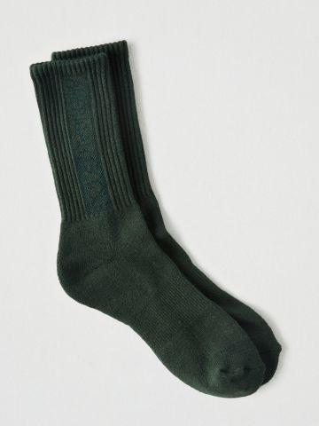 גרביים גבוהים ריב עם לוגו / גברים של AMERICAN EAGLE
