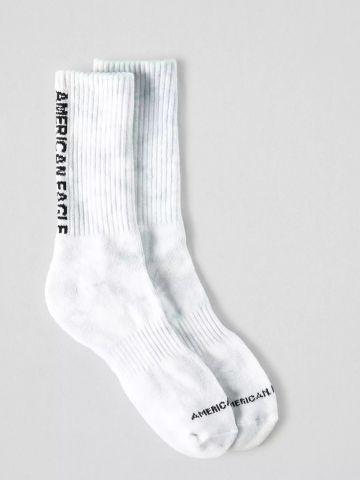גרביים גבוהים טאי דאי עם הדפס לוגו / גברים של AMERICAN EAGLE