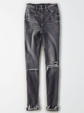 ג'ינס Curvy בגזרה גבוהה High Rise Jegging / נשים של AMERICAN EAGLE