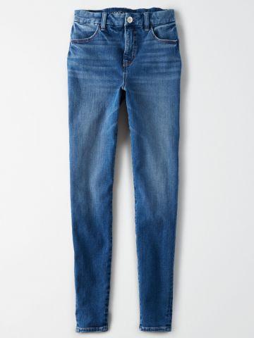 ג'ינס סקיני Curvy Super Hi-Rise Jegging / נשים של AMERICAN EAGLE