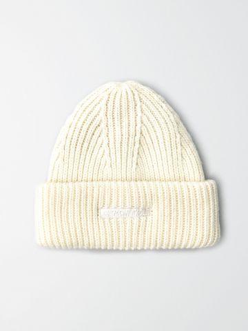 כובע צמר סרוג עם לוגו / גברים של AMERICAN EAGLE