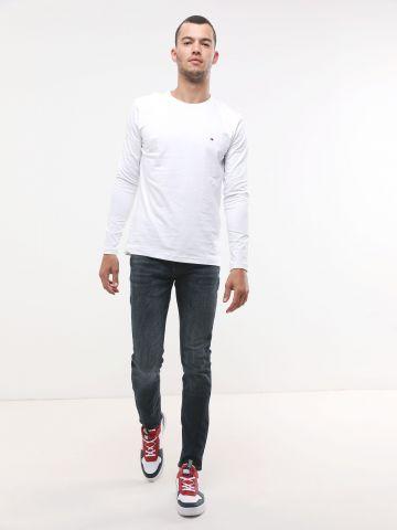 ג'ינס סקיני בשטיפה כהה עם כיסים של TOMMY HILFIGER