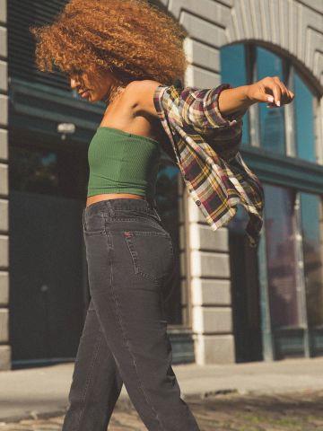 ג'ינס MOM ווש BDG של URBAN OUTFITTERS