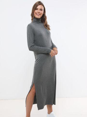 שמלת מקסי גולף עם שרוולים ארוכים של TERMINAL X