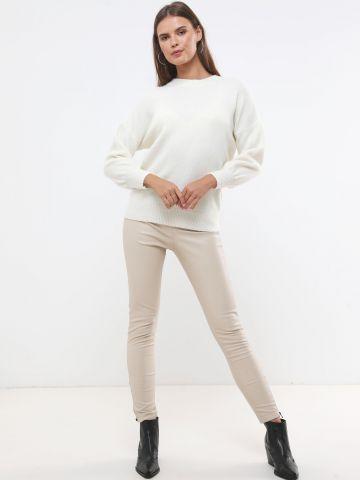מכנסי סקיני דמוי עור של TERMINAL X