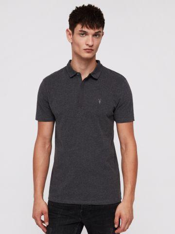 חולצת פולו עם רקמת לוגו של ALL SAINTS