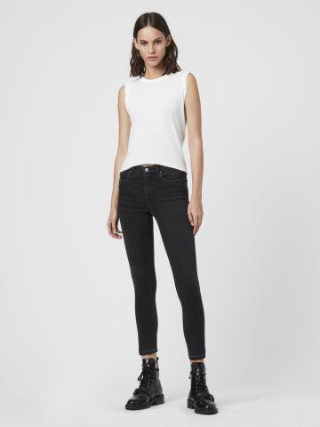 ג'ינס סקיני עם עיטורי ניטים של ALL SAINTS