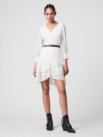 שמלת מיני בדוגמא אבסטרקטית של ALL SAINTS