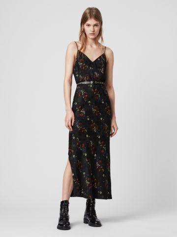 שמלת מקסי בהדפס פרחים של ALL SAINTS