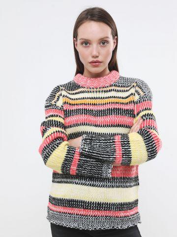 סוודר פסים מולטי קולור של GLAMOROUS