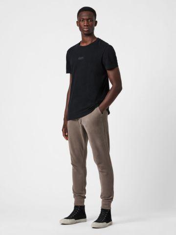 מכנסי טרנינג ארוכים עם כיסים ולוגו של ALL SAINTS