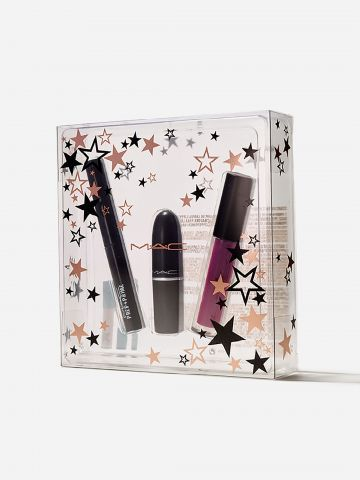 קיט לשפתיים מושלמות Stars Of The Party Bold / Starring You - Holiday Kits של MAC