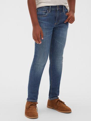 ג'ינס סקיני ארוך בשטיפה כהה / בנים של GAP