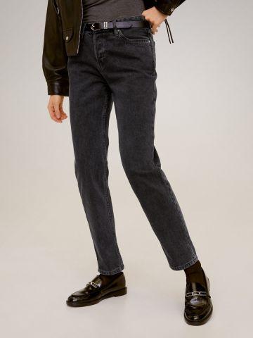 ג'ינס ווש בגזרת Relaxed fit של MANGO