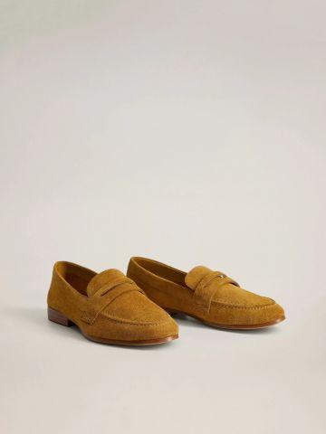 נעלי מוקסין מזמש / נשים של MANGO