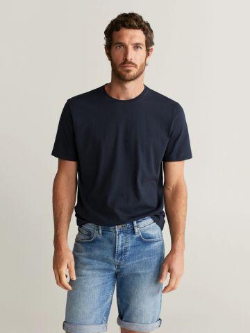 ג'ינס ברמודה קצר של MANGO