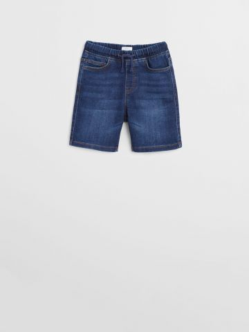 ג'ינס ברמודה קצר / בנים של MANGO