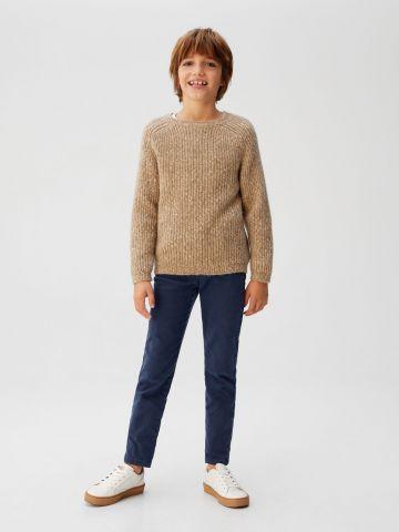 מכנסיים ארוכים בגזרת Slim-fit של MANGO
