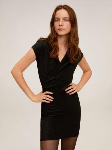 שמלת לורקס מיני בסגנון מעטפת של MANGO