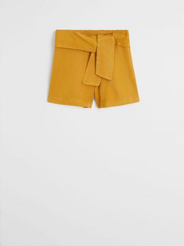 מכנסיים קצרים עם עיטור קשירה / בנות של MANGO