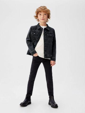 ג'קט ג'ינס קלאסי עם כיסים של MANGO