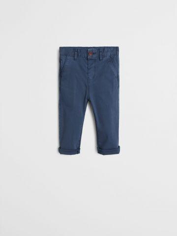 מכנסיים ארוכים בגזרה ישרה / 9M-4Y של MANGO
