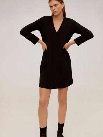 שמלת מיני וי של MANGO