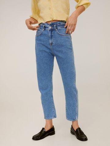 ג'ינס בגזרה ישרה Slouchy של MANGO