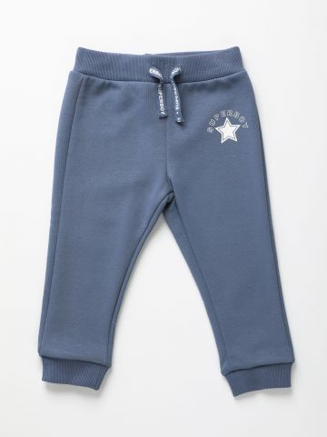 מכנסי טרנינג ארוכים עם הדפס / 6M-5Y של THE CHILDREN'S PLACE