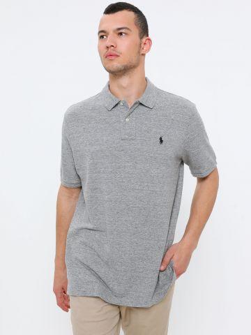 חולצת פולו עם רקמת לוגו של RALPH LAUREN