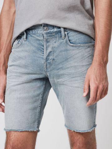 ג'ינס Slim קצר בשטיפה בהירה  של ALL SAINTS