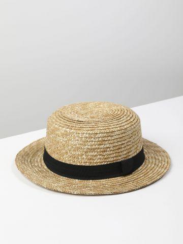 כובע קש עם סרט / נשים של TERMINAL X
