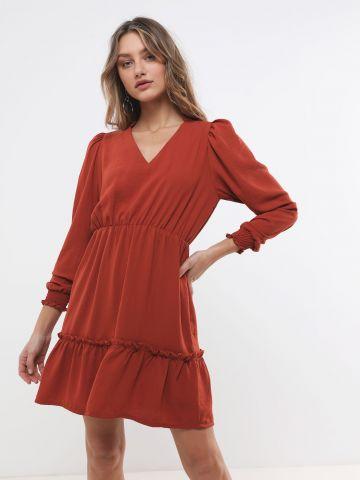 שמלת מיני עם פפלום של YANGA