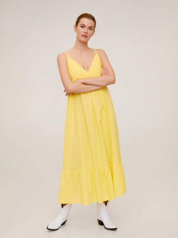 שמלת מידי עם פפלום של MANGO