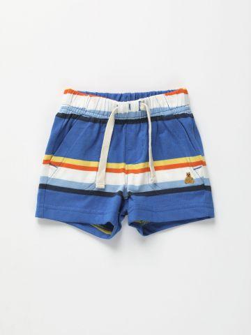 מכנסיים קצרים בהדפס פסים / 0-24M של GAP