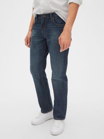 ג'ינס ארוך בשטיפה כהה של GAP