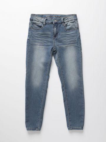 מכנסי ג'ינס ווש ארוכים / בנות של AMERICAN EAGLE