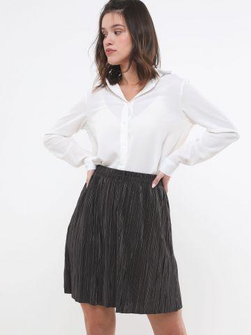 חצאית מיני פליסה של YANGA