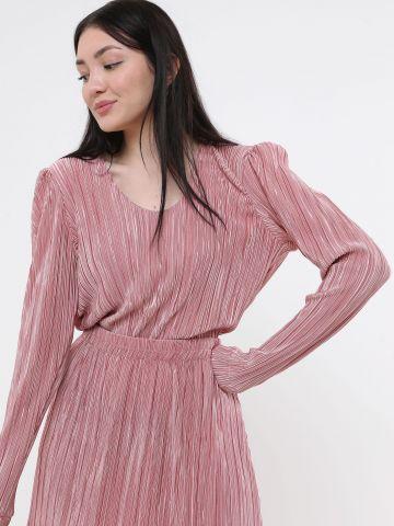 חולצת פליסה מבריקה של YANGA