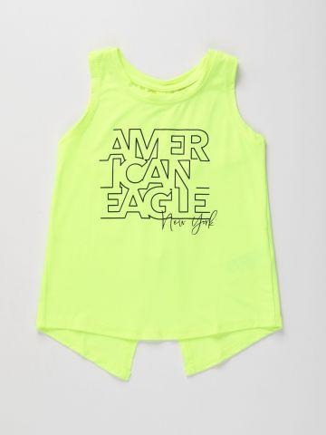 גופיית אקטיב עם גב פתוח / בנות של AMERICAN EAGLE