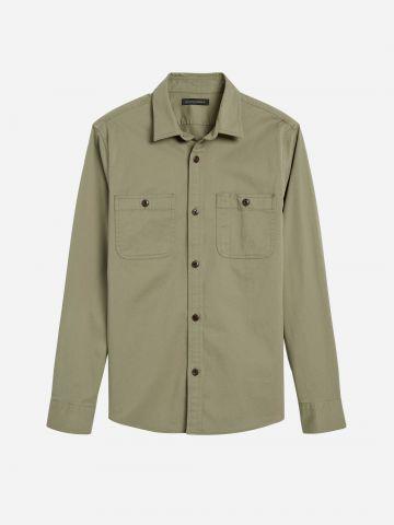 חולצה מכופתרת עם כיסים Slim של BANANA REPUBLIC