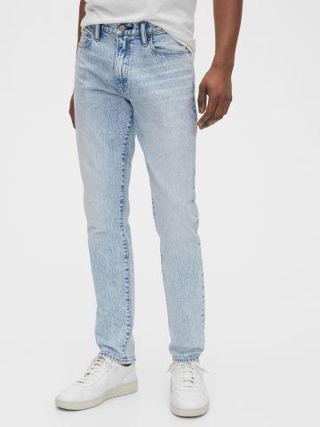ג'ינס אסיד ווש בגזרת סקיני של GAP