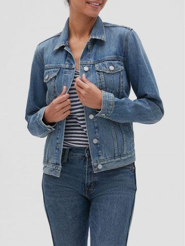 ג'קט ג'ינס עם כיסים של GAP